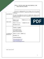 Memoria Tecnica y Descriptiva Monitoreo y Vigilancia