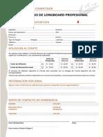 Ficha de Deportistas