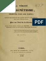 1829 Ami de La Verite La Verite Du Magnetisme
