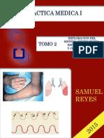 Practica Medica I Unidad II Exploracion de Sistema Respiratorio, Vascular y Enfermedades Del Colageno