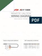 Vvdi Key Tool Remote Unlock Wiring Diagram v2.0
