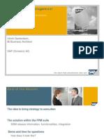 05 EPM SAP Strategy Management Ulrich Gantenbein