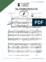 Doña Francisquita - Fandango