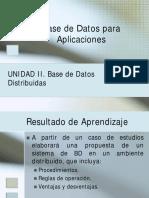 Base de Datos Distribuidas