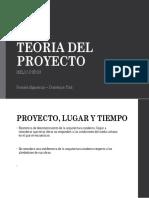 Teoria Del Proyecto