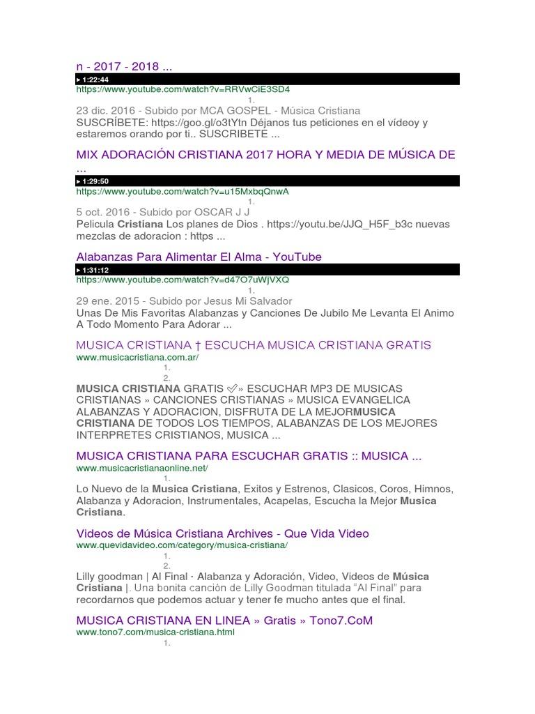 musica cristiana para escuchar gratis mp3 2013
