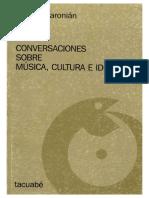 Coriún Aharonián - Conversaciones Sobre Música, Cultura e Identidad