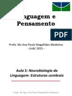 Neurobiologia da Linguagem - Estruturas Cerebrais