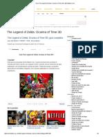 Guía the Legend of Zelda_ Ocarina of Time 3D _ MeriStation