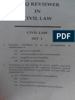 Set 1  Reviewer Civil Law