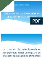 Formulario de Cliente-proyecto.