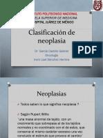 Clasificación de neoplasia