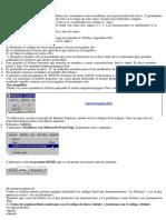 Curso HTML