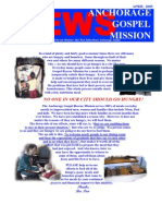 April 2005 Anchorage Gospel Rescue Mission Newsletter