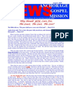 August 2005 Anchorage Gospel Rescue Mission Newsletter