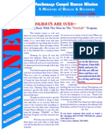 January 2006 Anchorage Gospel Rescue Mission Newsletter