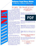 February 2006 Anchorage Gospel Rescue Mission Newsletter