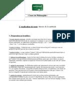 Philosophie Explication de Texte Theorie de La Methode