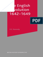 (British History in Perspective) D. E. Kennedy (Auth.)-The English Revolution 1642–1649-Macmillan Education UK (2000)