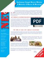 October 2006 Anchorage Gospel Rescue Mission Newsletter