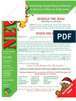December 2006 Anchorage Gospel Rescue Mission Newsletter