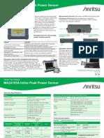 Anritsu - MA24105A Inline Peak Power Sensor QFS [11410-00630A]