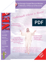April 2007 Anchorage Gospel Rescue Mission Newsletter