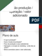 Tema 3 - Funcao Producao_operacao_valor Adicionado