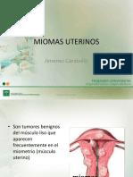 Miomas Uterinos Libro