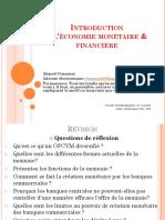 Révision 1 S3 Économie Monétaire Àrefaire