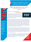 August 2007 Anchorage Gospel Rescue Mission Newsletter