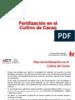 Fertilizaciion en El Cultivo de Cacao