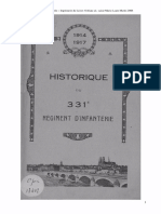 Historique Du 331e RI