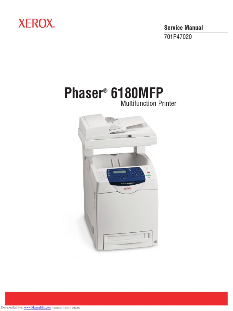 Xerox Phaser 6180mfp | Electrostatic Discharge | Electromagnetic  Interference.