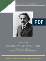 Thomas F. Glick_Einstein y los Españoles. Ciencia y Sociedad en la España de Entreguerras.pdf