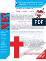 February 2008 Anchorage Gospel Rescue Mission Newsletter