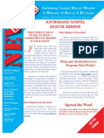 June 2009 Anchorage Gospel Rescue Mission Newsletter