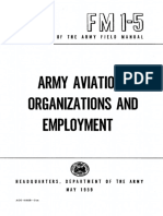 FM1-5 Army Aviaition Organizations and Employment 1959