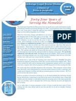 March 2009 Anchorage Gospel Rescue Mission Newsletter