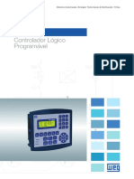 WEG Controlador Logico Programavel Plc300 50028018 Catalogo Portugues Br
