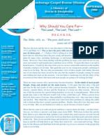 September 2009 Anchorage Gospel Rescue Mission Newsletter
