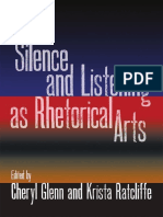Cheryl Glenn, Krista Ratcliffe, Melissa Joan Ianetta-Silence and Listening as Rhetorical Arts -SIU Press (2011)