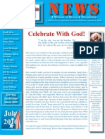 July 2010 Anchorage Gospel Rescue Mission Newsletter