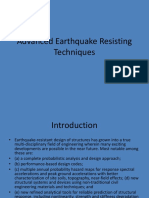 Advanced Earthquake Resisting Techniques