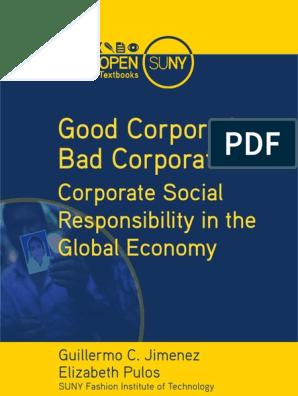 Good Corp Bad Corp | Corporate Social Responsibility | Stocks