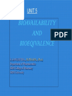 Bio Availability and Bio Equivalence