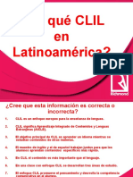 Taller CLIL Colombia