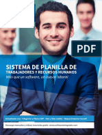 Brochure Visual Plan