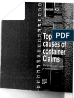 Top 25 Causes of Container Claims