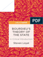Steven Loyal (Auth.)-Bourdieu's Theory of the State_ a Critical Introduction-Palgrave Macmillan US (2017)